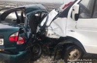 Під Херсоном у ДТП з маршруткою і легковиком загинули три людини