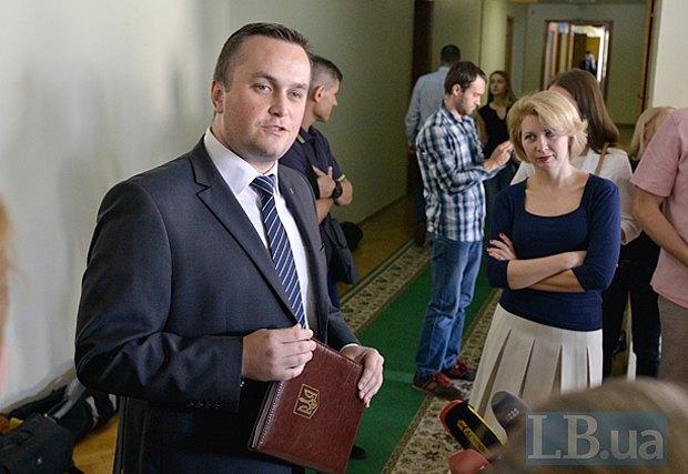 Назар Холодницький перед засіданням