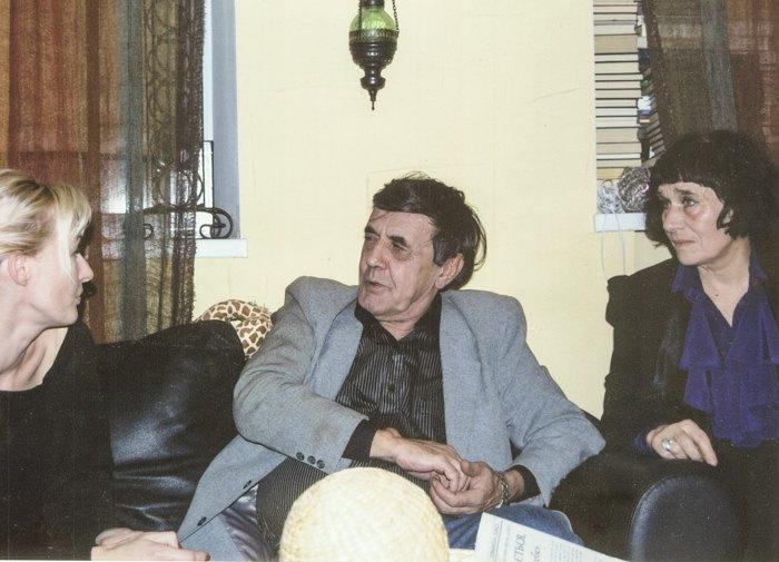 Юрій Вівташ і Раїса Лиша (справа)