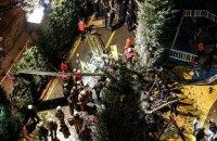 В Стамбуле при вынужденной посадке разбился военный вертолет