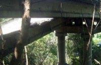 У Донецькій області підірвали міст через річку Кальміус
