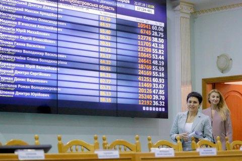 ЦВК зареєструвала ще 57 нардепів