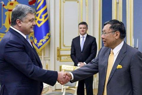 Порошенко объявил год Японии в Украине