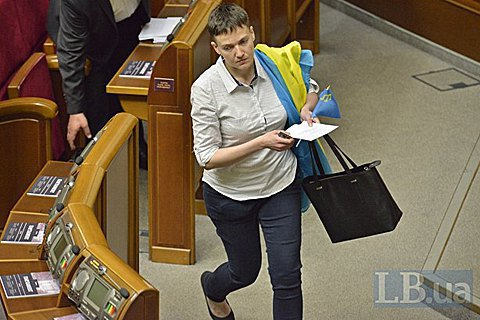 Луценко: Савченко загрожує зняття недоторканності