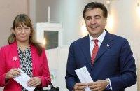 Колишня дружина Саакашвілі заявила, що не знала про його стосунки з депутаткою Ради