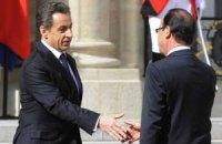 Встреча Олланда и Саркози превысила регламент