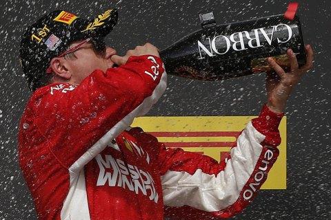 Компании Shell сделала гонщику Формулы-1 уникальный подарок