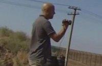 Грэм Филипс засветился возле КПП на въезде в Крым