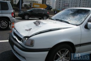 В Киеве насмерть сбили мужчину