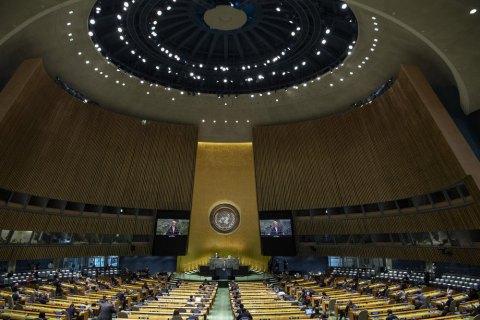 Генасамблея ООН ухвалила резолюцію щодо мілітаризації Криму Росією