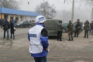 ОБСЕ фиксирует применение тяжелой артиллерии в районе Донецкого аэропорта