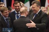 """Президент Европарламента надеется, что Янукович закончил """"собственную версию зимних игр"""""""