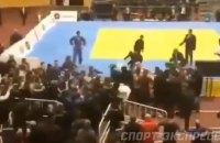 У Росії на турнірі з дзюдо сталася масова бійка