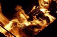 В Днепропетровской области при попытке растопить печь бензином едва не сожгли дом