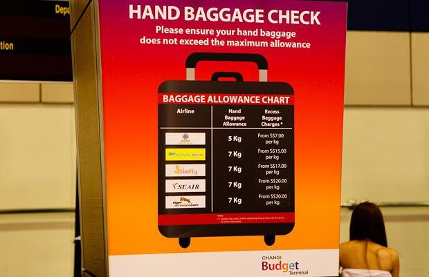 На лоукостах есть строгие ограничения для багажа