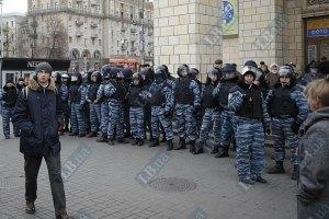 Милиция усилила охрану в районе Высшего спецсуда