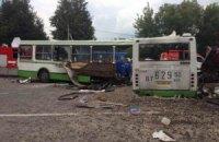 В Черкасской области рейсовый автобус попал в аварию: 10 человек пострадали