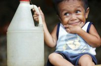 Рост самого маленького в мире человека составляет меньше 60 см