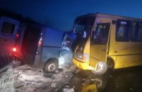 В Полтавской области в ДТП с рейсовым автобусом погиб человек