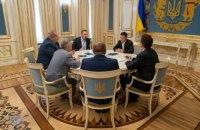 """Зеленский встретился с лидерами Меджлиса, """"чтобы ближе познакомиться"""""""