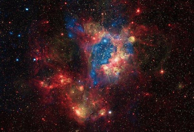 Звездное скопление NGC 1929