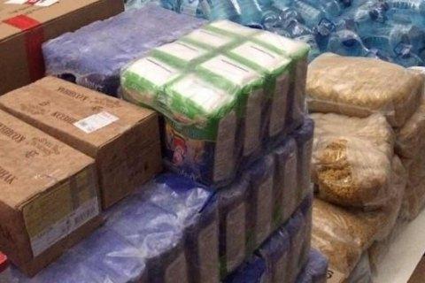 Харьковская область собрала первые 20 тонн гуманитарного груза для Винницы