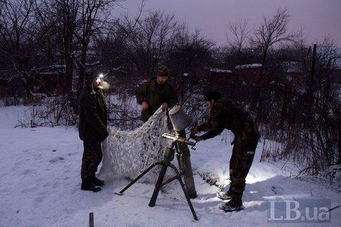 Боевики в течение дня сосредоточили обстрелы в районе Гнутово