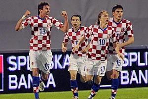 В составе хорватов - пять выходцев из Украины