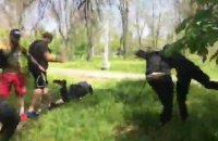 У Херсоні поліція запобігла розгону першотравневої демонстрації
