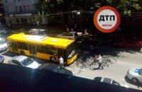 В Киеве за рулем умер водитель автобуса