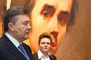 Янукович хочет отпраздновать юбилей Шевченко на уровне ООН