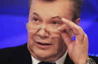 Янукович поздравил Зеленского