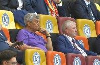 На матчі збірної України в Бухаресті фани вивісили банер проти Луческу