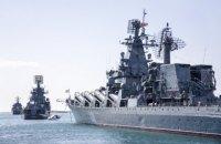 Черноморский флот РФ начал проверку сил в Крыму