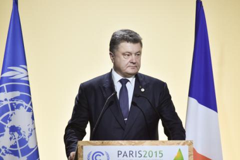 Порошенко: Через гібридну війну РФ Донбасу загрожує екологічна катастрофа