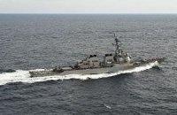 В Черное море войдет американский эсминец