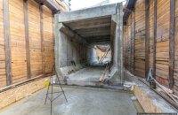В Киеве построили первый тоннель для метро на Виноградарь