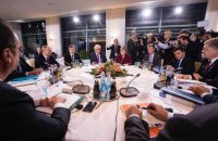 """Порошенко рассказал о перепалке с Путиным из-за """"формулы Штайнмайера"""" на саммите Нормандской четверки"""
