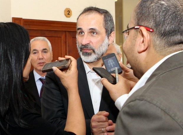 Ахмад Асси аль-Джарба, глава НКСРОС