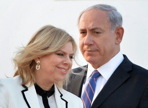 Премьер-министра Израиля Биньямина Нетаньяху и его супруга Сара