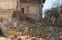 У центрі Одеси обвалився кут 130-річного будинку