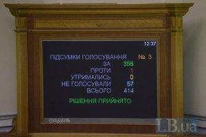 Минюст: законы от 16 января утратили силу