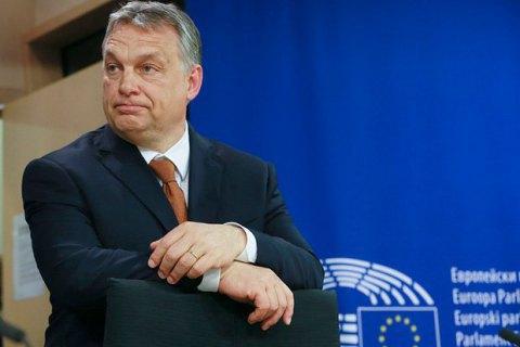 Прем'єр Угорщини: Сорос фінансує організації, щонагадують мафіозну мережу