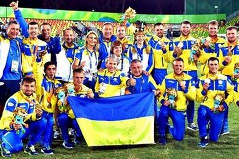 Паралимпийская сборная Украины по футболу выиграла чемпионат мира