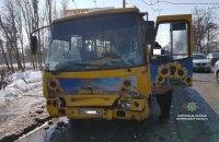 В Луцке в результате столкновения маршруток пострадали 11 человек