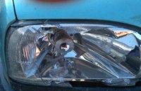 В Ровенской области пьяный водитель травмировал патрульного и разбил служебное авто