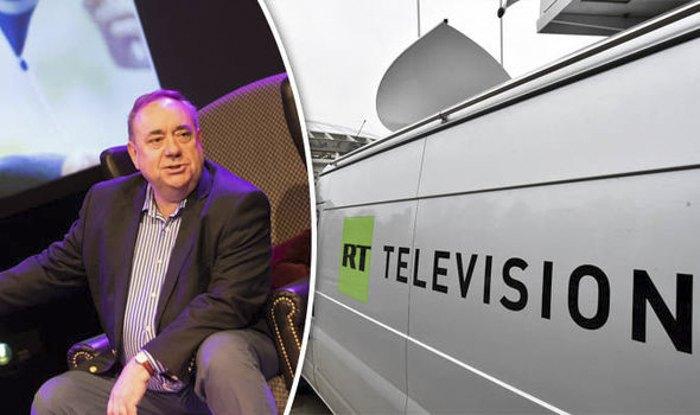 Экс-премьер Шотландии Алекс Салмонд ведет телешоу на российском телеканале RT,