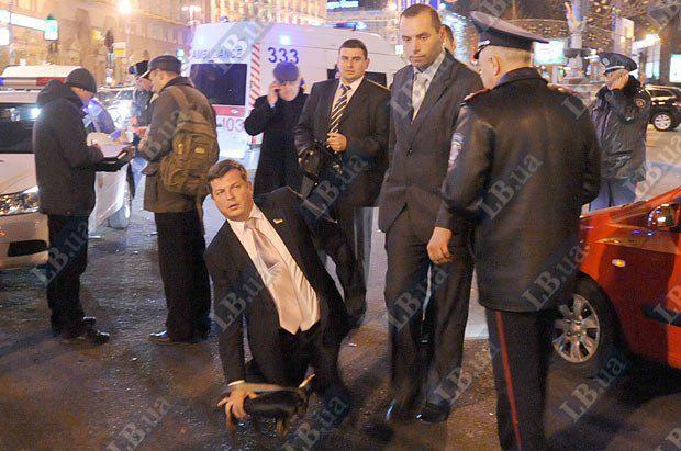Народный депутат Алексей Журавко(третий слева)