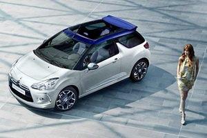 Citroen официально представила кабриолет DS3