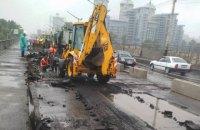 В Киеве начался капремонт моста Метро через Русановский пролив